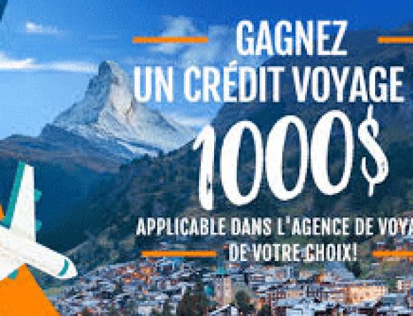 Win a $1000 travel voucher