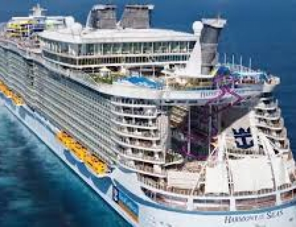 Harmony of the seas, le plus gros paquebot prend le large
